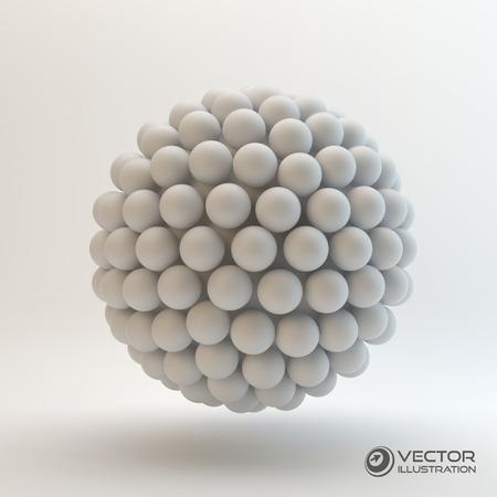 Ilustración vectorial 3D Vectores