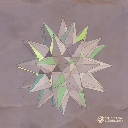 Vector 3D illustration  Vector