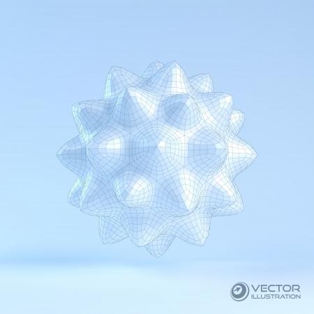 3D vector illustration   Vector