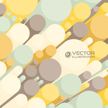 Abstract 3d background with colorful cylinders. Can be used for wallpaper, web page background. Vector
