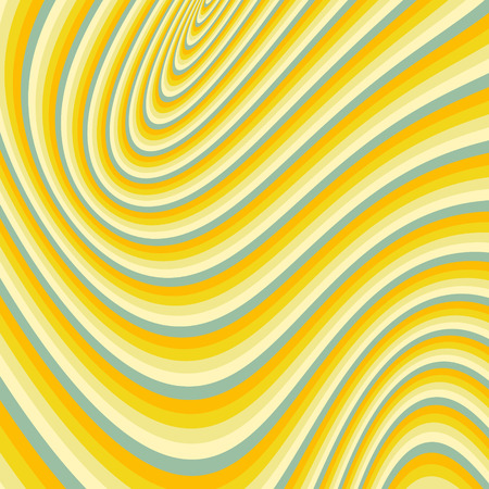 billowy: Pattern with optical illusion. Abstract background. Optical art. 3d vector illustration.