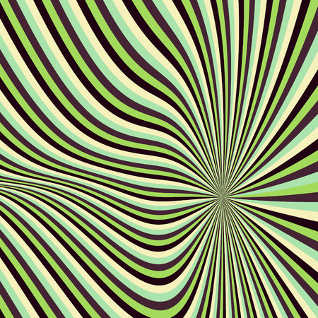 distort: Pattern with optical illusion. Abstract background. Optical art. 3d vector illustration.