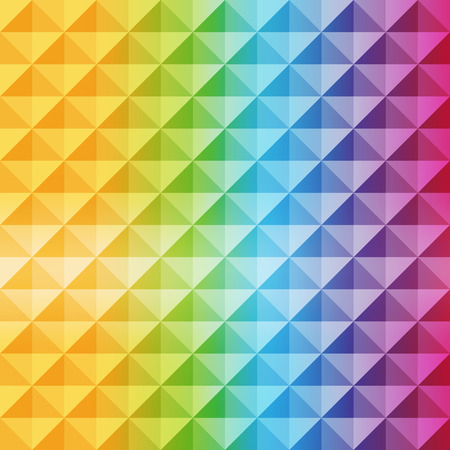 polychromatic: Abstract geometric background. Mosaic. Vector illustration. Can be used for wallpaper, web page background, book cover.