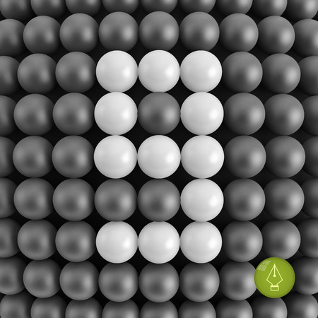 numero nueve: N�mero nueve. Matem�ticas de fondo - ilustraci�n vectorial 3d.