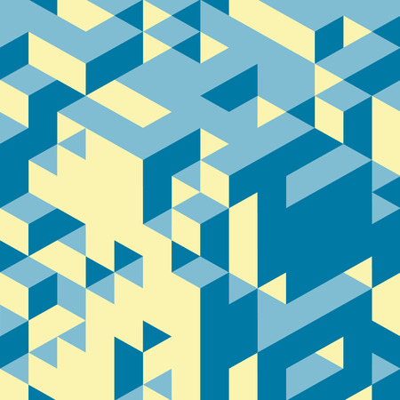 cubic: Abstract 3d background. Wall of cubes. Vector illustration. Can be used for marketing, print, presentation. Illustration