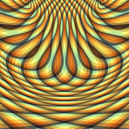ripply: Abstract swirl background. Pattern with optical illusion