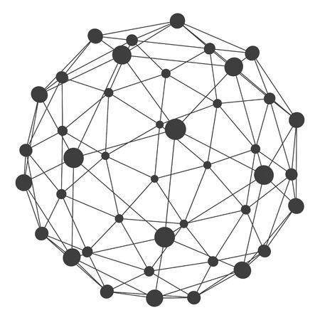 molecula: Estructura de la mol�cula 3D de fondo. Dise�o gr�fico. Ilustraci�n del vector. Puede ser utilizado para el cartel, tarjeta, folleto o banner. Vectores