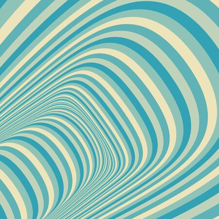 dynamical: Abstract 3d geometrical background. Pattern with optical illusion Illustration