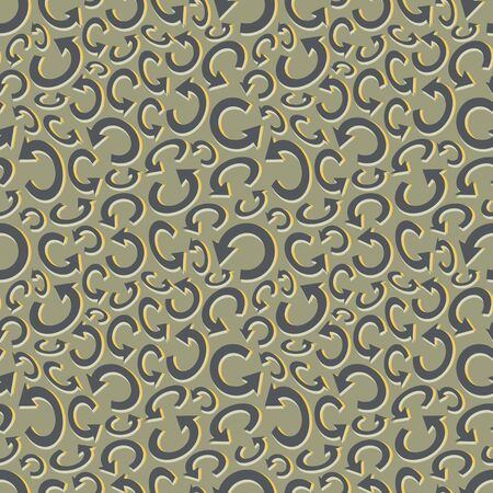 Seamless recycle background. Vector pattern. Can be used for wallpaper, web page background, book cover.