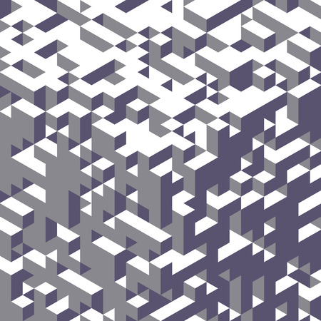 three dimensional shape: Abstract geometrical 3d background. Can be used for wallpaper, web page background, web banners. Illustration