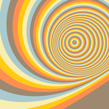 dynamical: Abstract swirl background. Pattern with optical illusion. Vector illustration. Can be used for wallpaper, web page background, web banners.