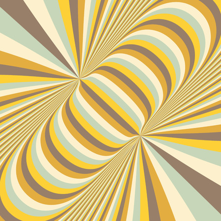 trickery: Abstract 3d geometrical background. Pattern with optical illusion. Vector illustration.