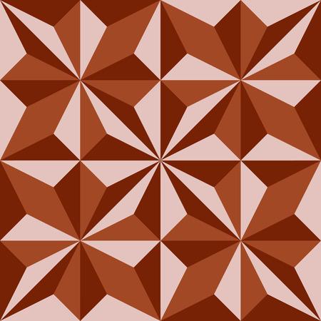 arte optico: Fondo poligonal abstracta geométrica compuesta de triángulos. Ilustración del vector. Vectores