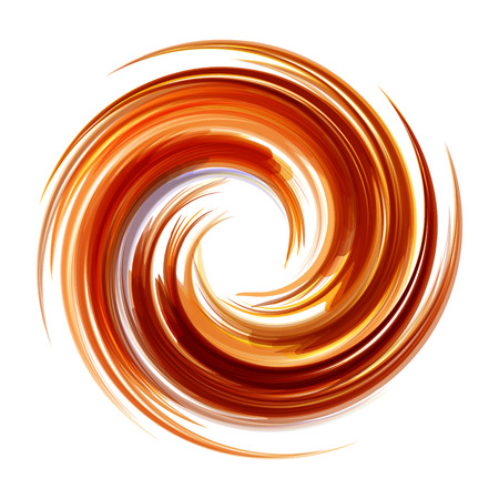 color design: Abstract icon. Dynamic flow illustration.  Swirl background.
