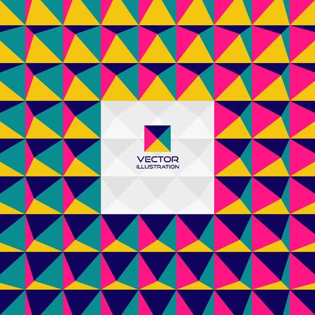 tetrahedron: Abstract 3d geometric background. With place for text. Can be used for wallpaper, web banner or design element.