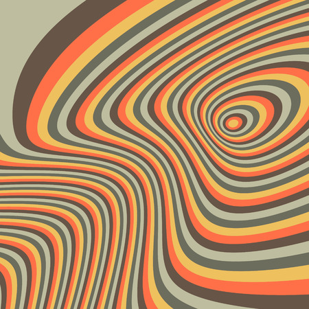 ripply: Pattern with optical illusion. Abstract background. Optical art. 3d vector illustration.