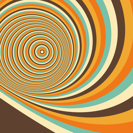 dynamical: Abstract swirl background. Pattern with optical illusion. Vector illustration.