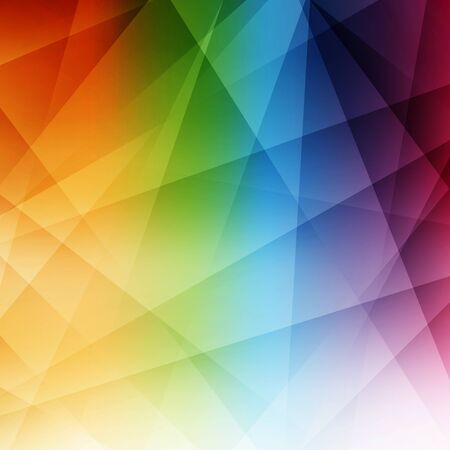 polychromatic: Abstract rainbow background. Modern pattern. Vector illustration. Can be used for wallpaper, web page background, book cover. Illustration