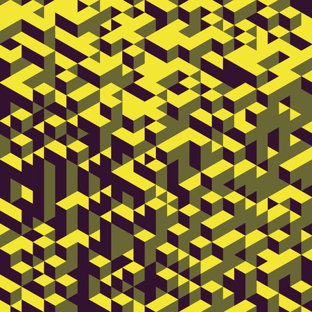 cubic: Abstract geometrical 3d background. Can be used for wallpaper, web page background, web banners. Illustration