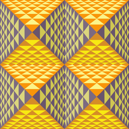 tridimensional: Abstract geometrical background with pyramids.
