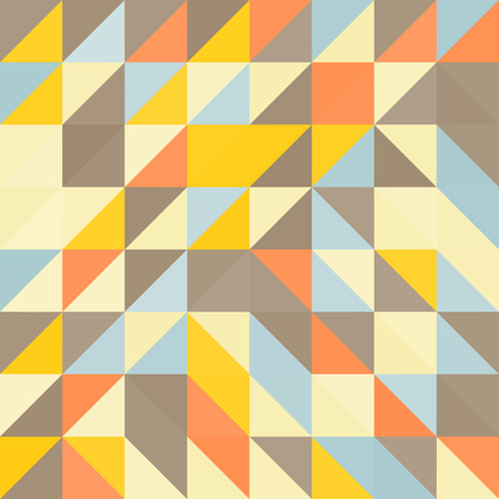pied: Geometric triangles background