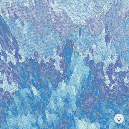 ice surface: Abstract landscape background