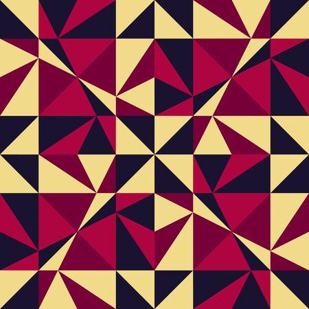 abstract illustration: Sfondo geometrico senza soluzione di continuit�. Abstract Illustrazione