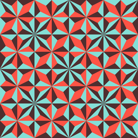 tridimensional: Abstract geometric polygonal background composed of triangles. Vector illustration. Illustration