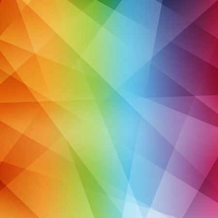 polychromatic: Abstract rainbow background. Modern pattern. Vector illustration. Can be used for wallpaper, web page background, web banners. Illustration