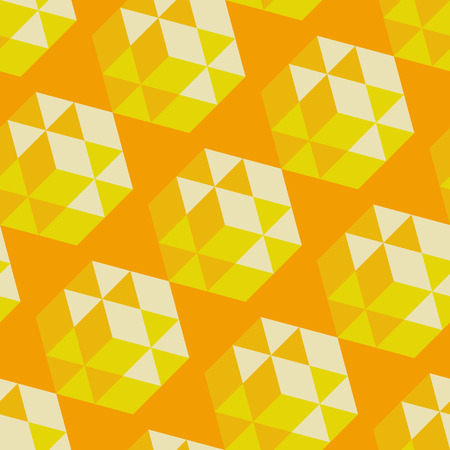 Abstract geometrical 3d background.  Vector