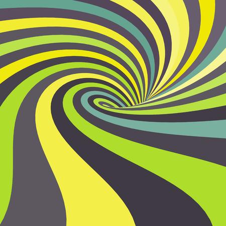 espiral: 3d abstracto espiral.