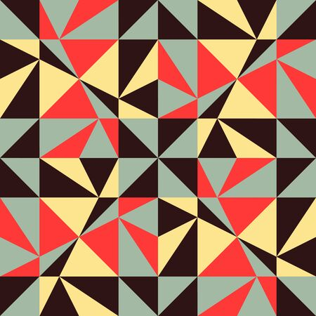 abstract background vector: Seamless geometric background. Abstract vector Illustration. Pattern with triangle mosaic. Can be used for wallpaper, web page background, book cover. Illustration