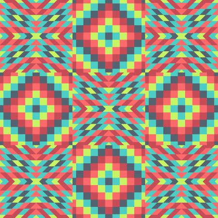 microprint: Seamless pattern. Template for design and decoration backgrounds, covers, textile. Abstract vector illustration.