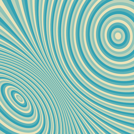 ripply: Abstract 3d geometrical background. Pattern with optical illusion. Vector illustration.
