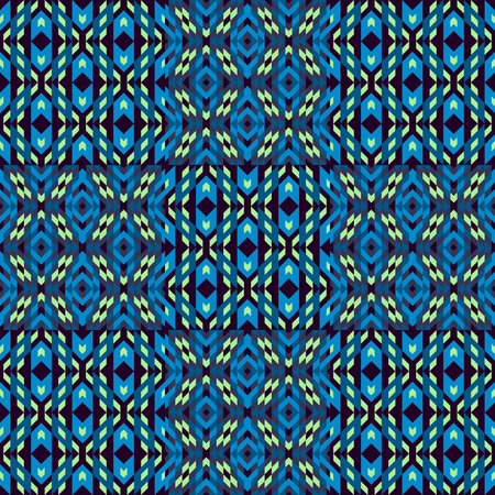 microprint: Seamless pattern. Template for design and decoration backgrounds, package, covers, textile. Mosaic abstract vector illustration. Illustration