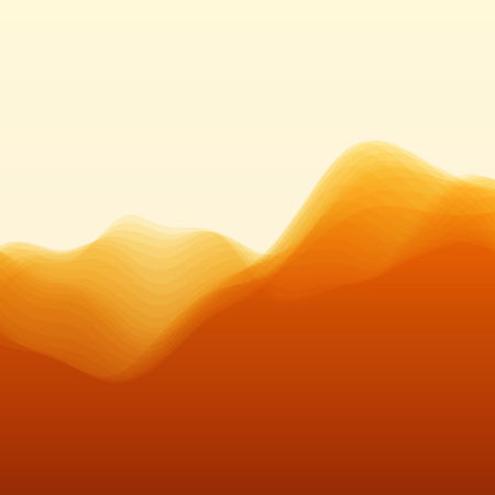 undulate: Mountain Landscape. Vector Silhouettes Of Mountains Backgrounds. Can Be Used For Banner, Flyer, Book Cover, Poster, Web Banners.