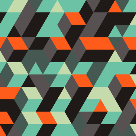 geometric design: Abstract Geometrical 3d Background. Can Be Used For Wallpaper, Web Page Background, Web Banners. Illustration