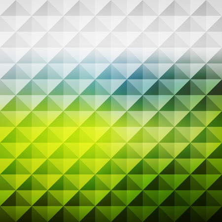 herbage: Abstract Geometric Background. Mosaic. Vector Illustration. Can Be Used For Wallpaper, Web Page Background, Book Cover.