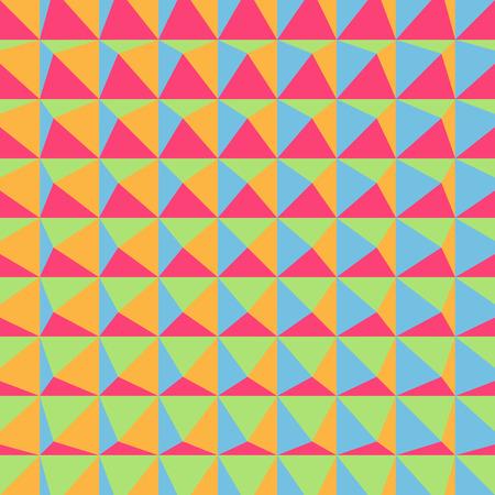 tetraedro: Abstract 3d disegno geometrico. Sfondo poligonale. Illustrazione vettoriale. Pu� essere usato per carta da parati sfondo della pagina web, Copertina. Vettoriali