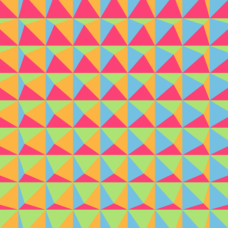 tetrahedron: Abstract 3d geometric pattern. Polygonal background. Vector illustration. Can Be Used For Wallpaper, Web Page Background, Book Cover.