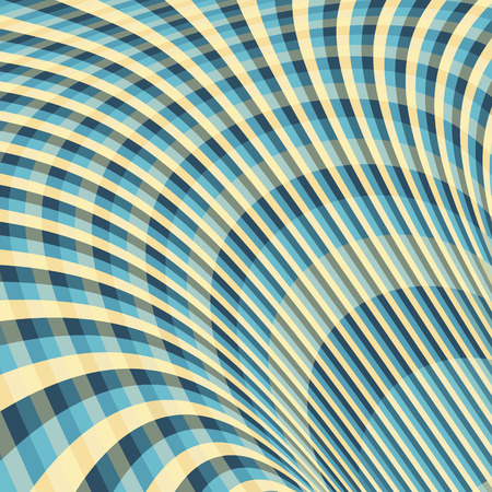 dynamical: Abstract Swirl Background. Pattern With Optical Illusion. Vector Illustration. Illustration