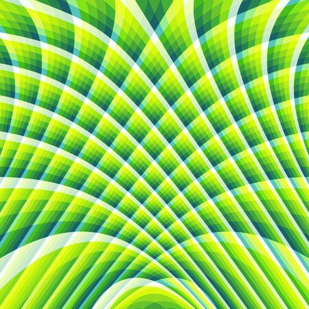 3d art: Abstract swirl background. Pattern with optical illusion. Vector illustration.