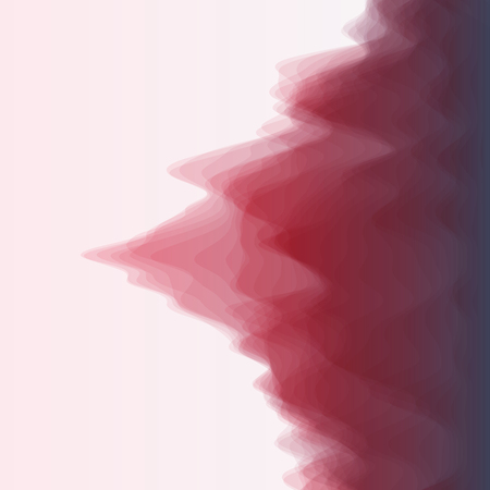 vague: Abstract Background With Curves Lines. Vector Silhouettes Backgrounds. Illustration