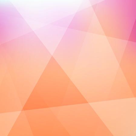 to polygons: fondo borroso. Modelo moderno. Resumen ilustración vectorial.