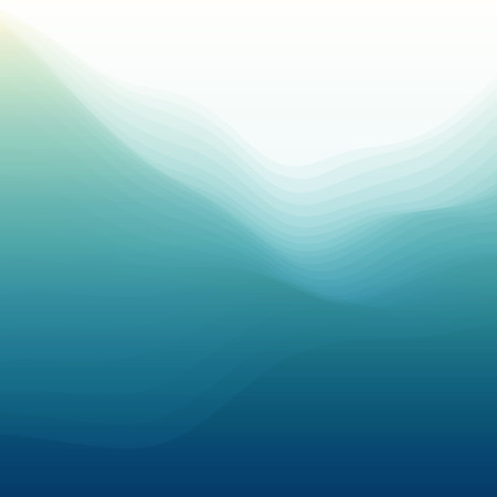 aqueous: Water Wave Illustration Illustration