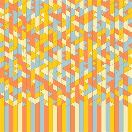abstract wallpaper: Abstract Geometric Background. Mosaic. Vector Illustration. Can Be Used For Wallpaper, Background and Book Cover.