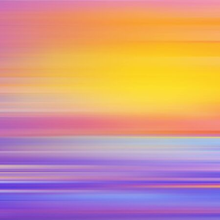 sunny: Abstract background with sunset. Vector illustration. Can be used for wallpaper, web page background, web banners.