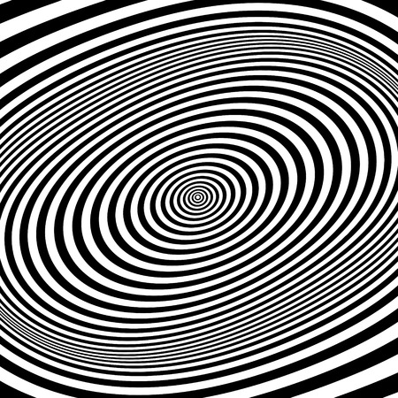 white abstract: Black and white abstract striped background. Optical Art. Vector illustration.