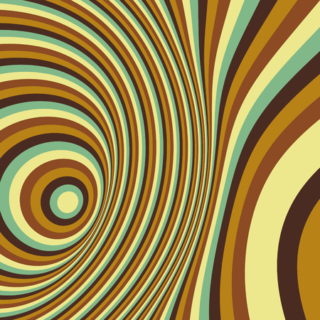 distort: Abstract swirl background. Pattern with optical illusion. Vector illustration.