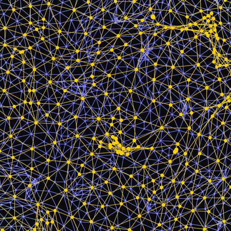grid background: Grid Background 3d Vector Illustration.